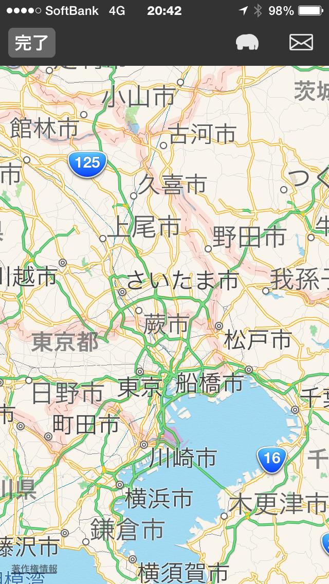 レポート項目地図